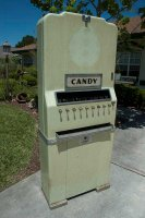 Late 1930's National Candy Machine