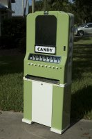 Late 1930's National Candy Machine - Restored