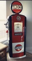 Bennett Gas Pump - After