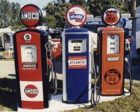 Various Gas Pumps