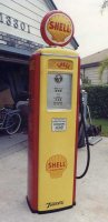 Tokheim 39 Gas Pump - Restored