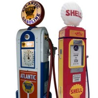 Antique Classic Vintage Gas Pumps & Related Items