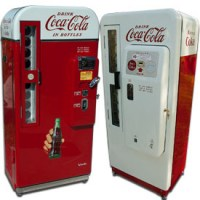 Antique Classic Vintage Soda Pop Machines & Related Items