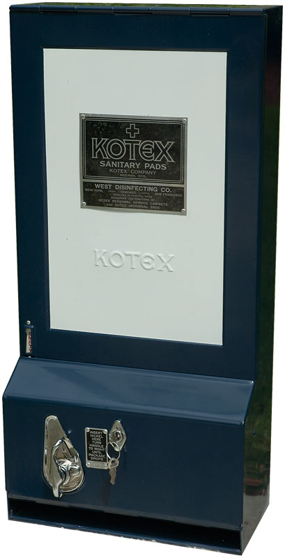 Early 1930's Kotex Sanitary Napkin Dispenser
