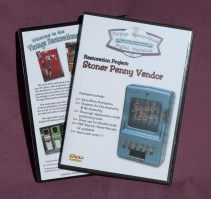 Vintage Restorations Digital Workshop DVD Tutorial: Stoner Penny Gum Vendor