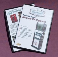 Vintage Restorations Digital Workshop DVD Tutorial: National 7M Cigarette
