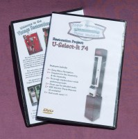 Vintage Restorations Digital Workshop DVD Tutorial: U-Select-It Model 74
